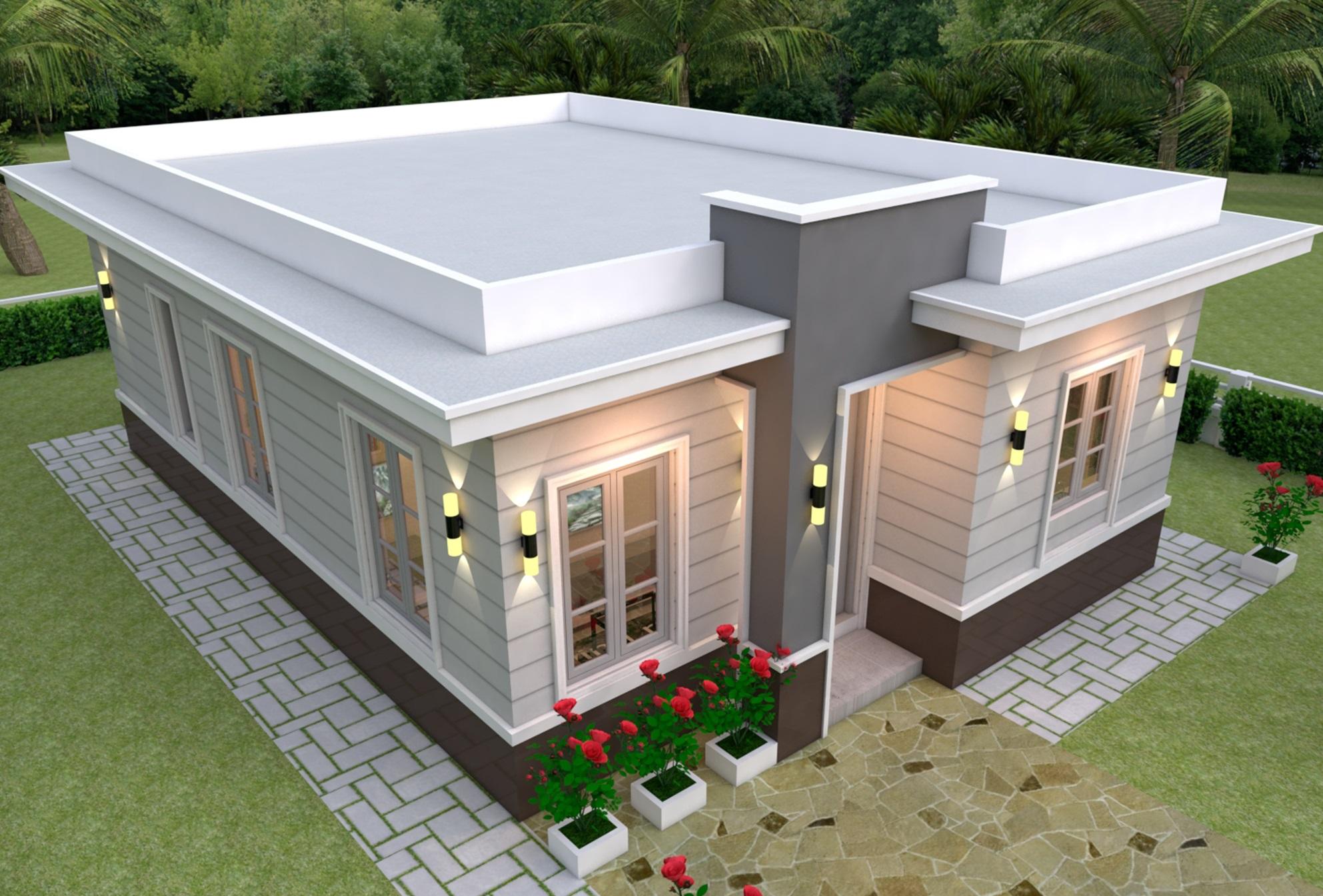 20 Contoh Desain Rumah Sederhana dan Minimalis