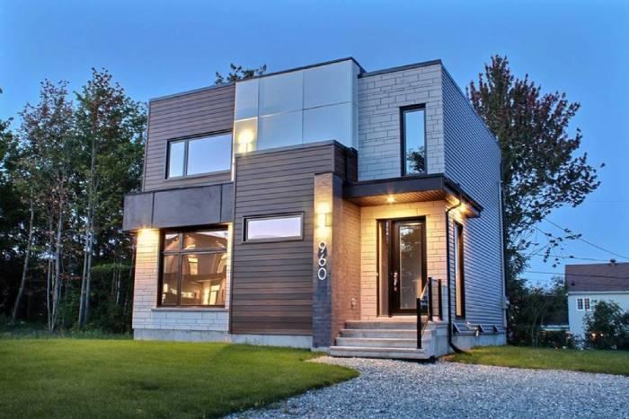 Rumah Minimalis 2021 Cube Shaped