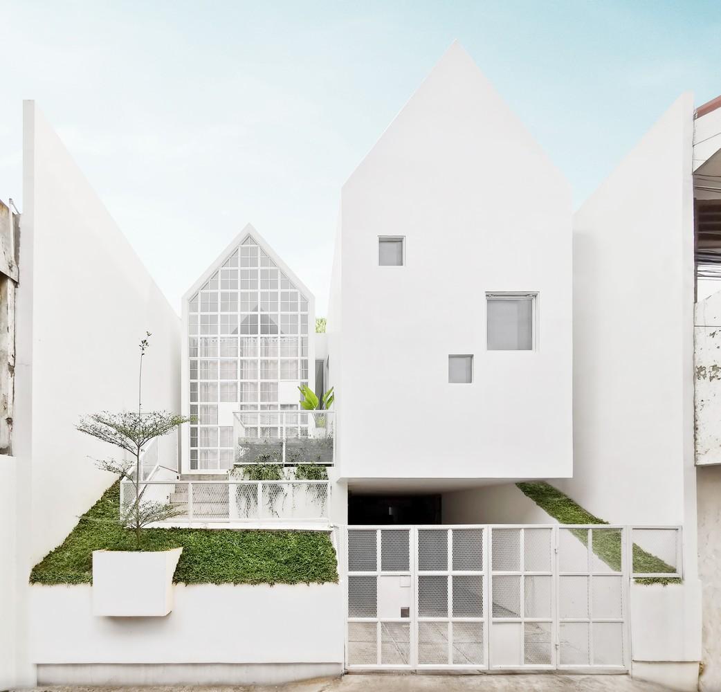 Rumah Minimalis 2021 Dinding Putih Alami