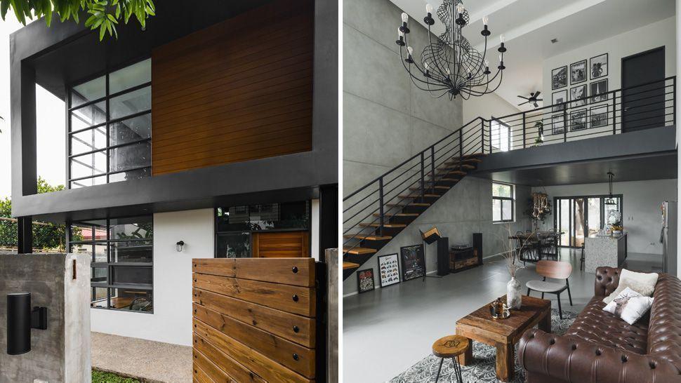 Rumah Minimalis 2021 Konsep Industrial