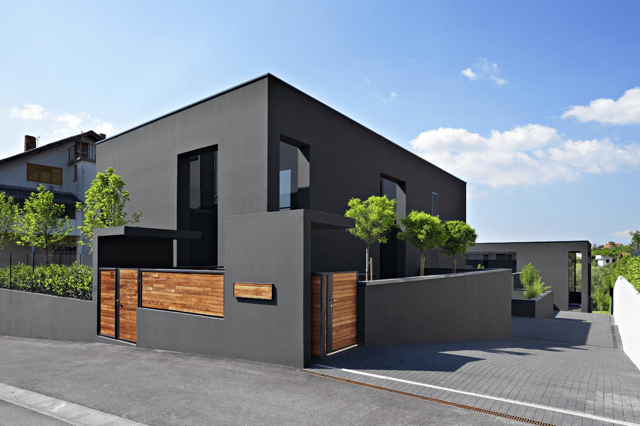 Rumah Minimalis 2021 Fasad Serba Hitam
