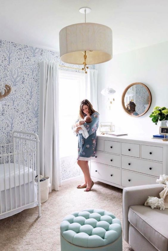 kamar ibu dan bayi biru tenang