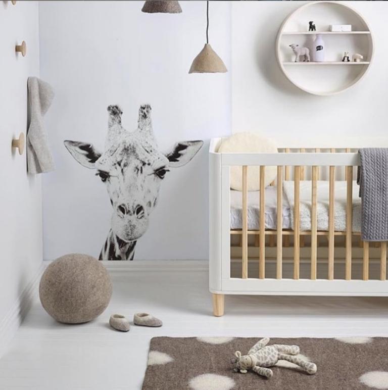 kamar ibu dan bayi motif binatang
